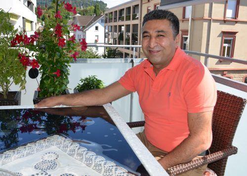 Für Savas Kaplan ist heuer Urlaub auf Balkonien angesagt – coronabedingt. HRJ