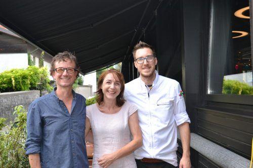 Gastgeber: Harald und Bianca Wieshofer sowie Daniel Mostögel.