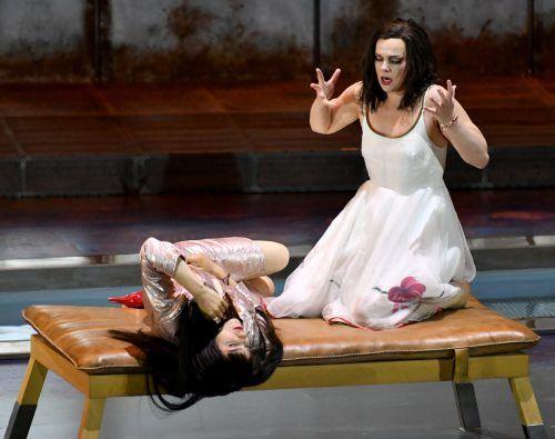 Glanzvolle Stimmen, eingehende Rollengestaltung: Asmik Grigorian (Chrysothemis), Ausrine Stundyte (Elektra). APA