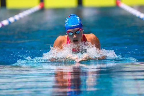 Hanna Röser sorgte mit ihrer Bronzemedaille für den TS-Dornbirn-Höhepunkt bei den 75. Staatsmeisterschaften. cth