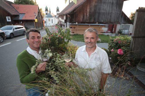Harald Stifter (l.) und Walter Moosbrugger.