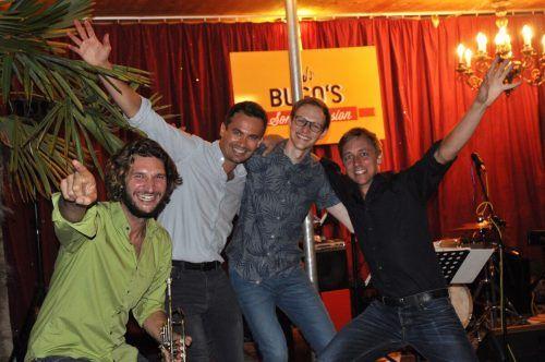 Heute, Freitag, ab 19 Uhr sorgenChristian und Philipp Sonderegger, David und Markus Ess auf dem bugo-Platz in Göfis für Unterhaltung. bugo