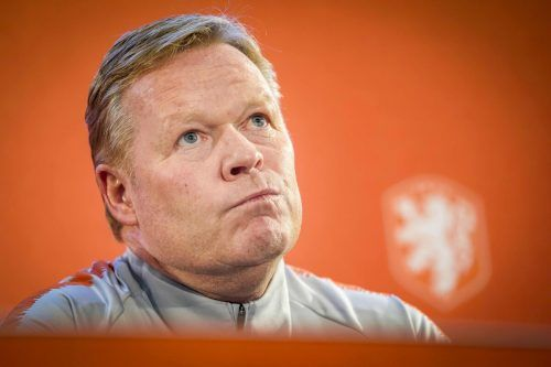 Hollands Teamchef Ronald Koeman. afp