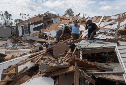 """Hurrikan """"Laura"""" hinterließ eine Spur der Verwüstung. AFP"""