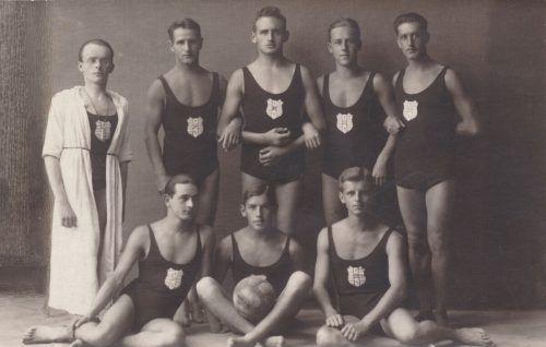 ie Gründungsväter des SC Bregenz im Jahr 1920. Stadtarchiv Bregenz