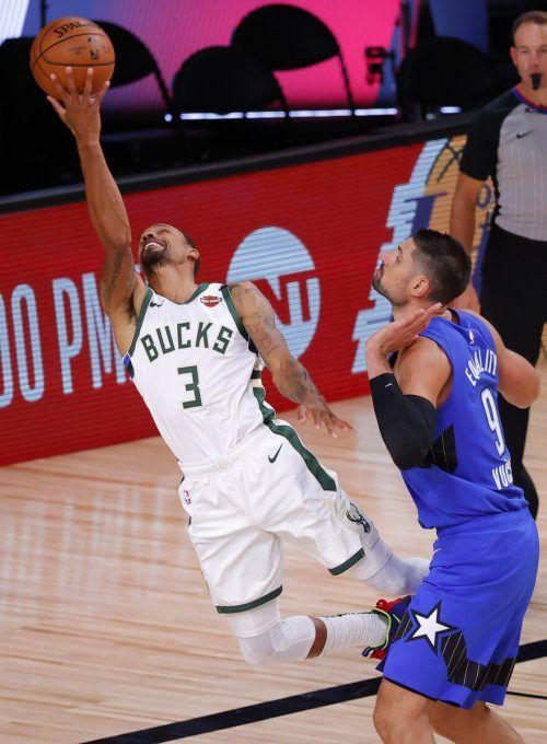 Im ersten Spiel nach dem Boykott sicherten sich die Milwaukee Bucks den Aufstieg.apa