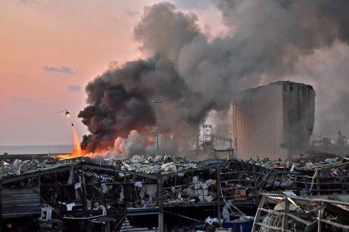 Im Fall Beirut gibt es Hinweise auf Schweißarbeiten und einen dadurch ausgebrochenen Brand. AFP