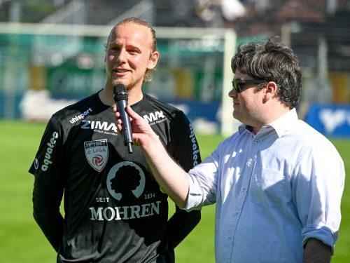 Im Juni 2019 verabschiedete sich Nicolas Mohr bei der Austria Lustenau.gepa