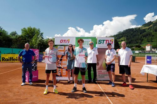 Im U-14-Einzel und -Doppel gewann Joel Schwärzler die Jugendmeisterschaften.BRUCK