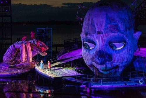 """In der kommenden Woche muss sich der """"Rigoletto""""-Clown auf der Bregenzer Seebühne einem Fitness-Test unterziehen, 2021 ist er wieder aktiv. Stiplovsek"""