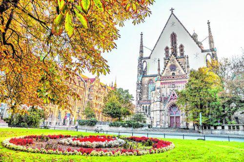 In der Thomaskirche hat der weltbekannte Thomanerchor seinen Ursprung. Shutterstock/ Sergey Dzyuba