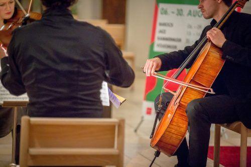 In verschiedenen Formationen präsentieren die Kammermusiker im Rahmen der Montafoner Resonanzen ein abwechslungsreiches Programm. MT/Kothner