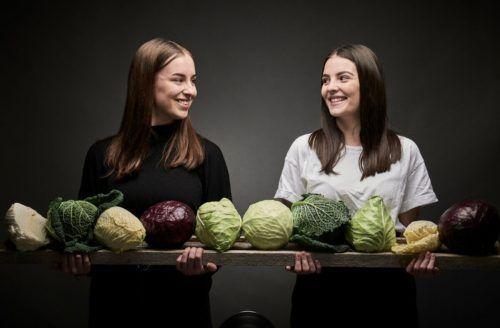 Jessica Barta und Anja Beyer entwickelten für ihre Diplomarbeit ein ganz spezielles Kraut-Funding.