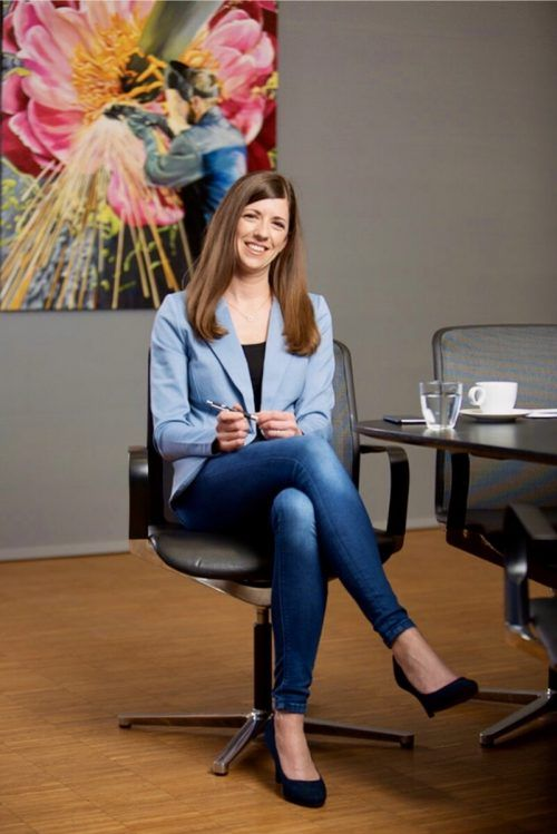 Jessica Lutz arbeitet in der Einkaufsabteilung bei Blum und ist Betriebsrätin. l.mathis