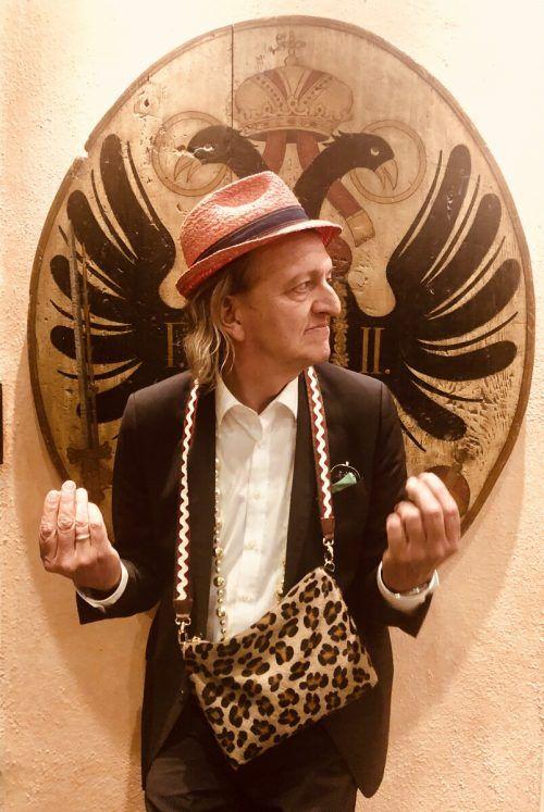 Kabarettist Markus Linder ist morgen in der Villa Falkenhorst zu Gast.Veranstalter
