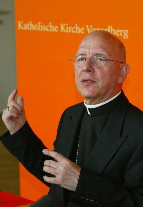 Klaus Küng (79) stand der Diözese Feldkirch bis 2004 vor.