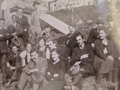 """""""Liederhort Hatlerdorf"""": Ausflug ins Blaue 1922."""