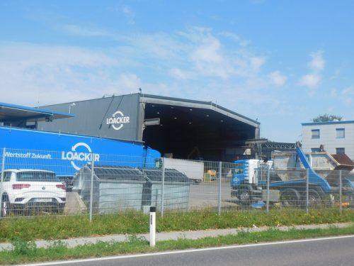 Loacker Recycling will die Schrottzerkleinerungsanlage erweitern und stellt sich einem UVP-Verfahren. Mäser