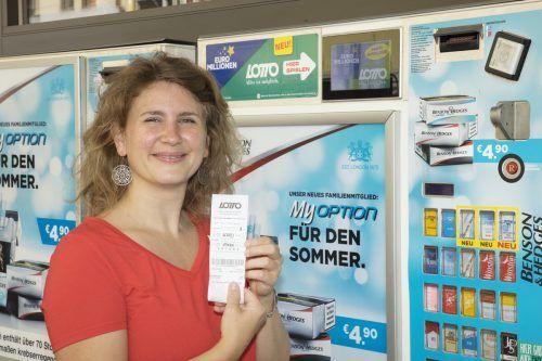 Lotto-Scheine bekommt man künftig auch am Automaten. lotterien