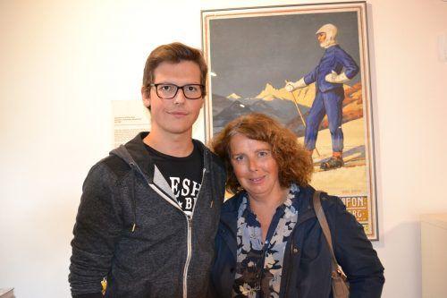 Lucas und Christine Wachter aus Gantschier nutzten das schlechte Wetter für einen spannenden Museumsbesuch.