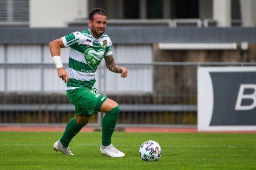 Lukas Katnik geht nunmehr für den FC Dornbirn auf Torejagd.gepa