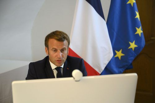 Macron organisierte mit den Vereinten Nationen eine Geberkonferenz.AFP