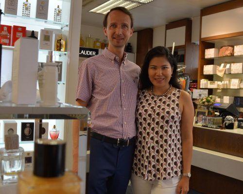 Madina und Daniel Valazza führen die Bregenzer Traditionsparfümerie in dritter Generation. Cro
