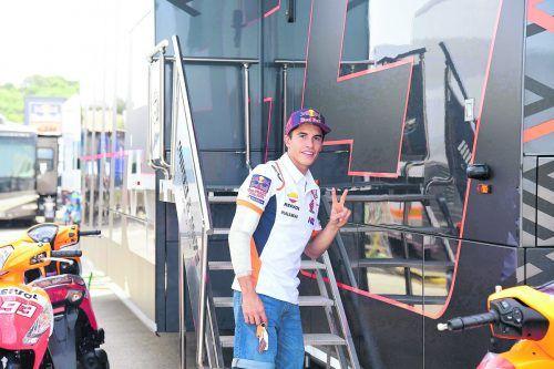 Marc Marquez wurde nochmals operiert, darf in Brünn nicht starten.ap