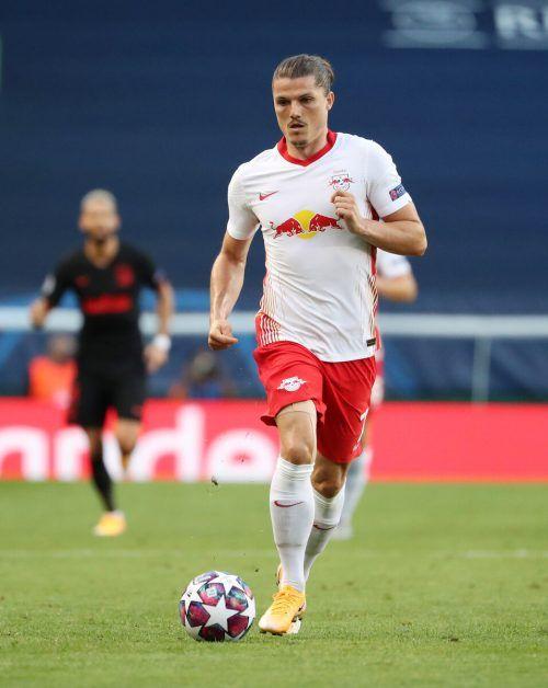 Marcel Sabitzer wird die Leipziger in Zukunft als Kapitän anführen.gepa