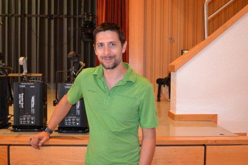 Matthias Bitschnau möchte trotz Einschränkungen ein sehr vielfältiges Programm anbieten.BI