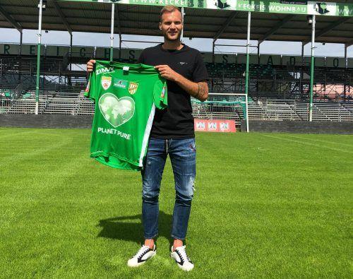 Matthias Maak wird sich ab sofort das grün-weiße Dress der Austria überstreifen.VEREIN