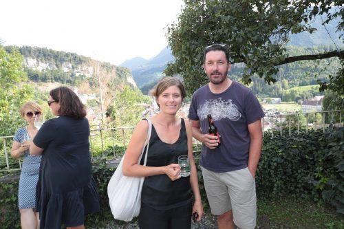 Melanie und Ingo Nachbaur genossen die gute Musik im angenehmen Ambiente.