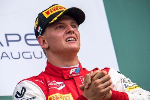 Mick Schumacher schaffte den Schritt in die Königsklasse des Motorsports und wird nächste Saison für Haas in die Rennen gehen.apa