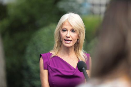 """Mit dem """"alternative Fakten""""-Sager sorgte Conway für Aufsehen. reuters"""