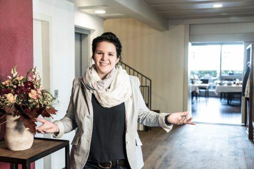 Mit erst 29 Jahren ist Michaela Herburger die jüngste Gastronomin in der Marktgemeinde Rankweil. Privat