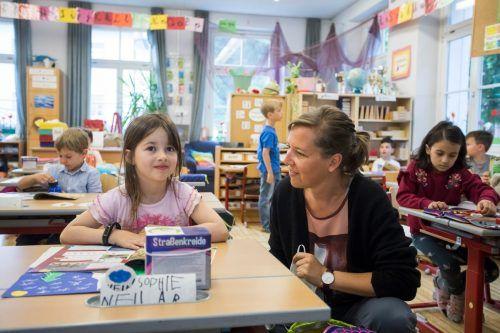 """Mit konkreten Weichenstellungen durch das Land soll Unterricht """"unter bestmöglichem Schutz der Gesundheit für Kinder und Pädagogen"""" starten. VN/Paulitsch"""