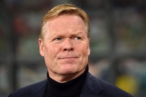 Mit Trainer Ronald Koeman soll der FC Barcelona zu alter Stärke zurückfinden.AFP