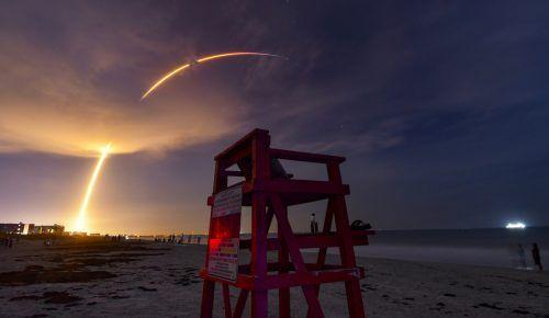 Mittlerweile befinden sich mehr als 500 Starlink-Satelliten im Orbit. AP