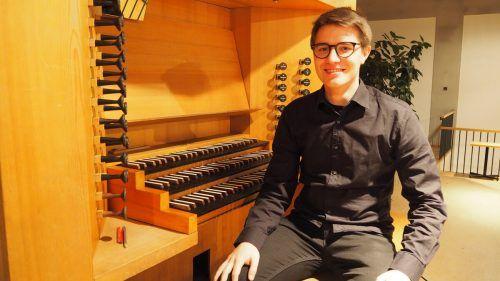 Musik ist die Leidenschaft des 21-jährigen Altachers Johannes Grabher.Egle
