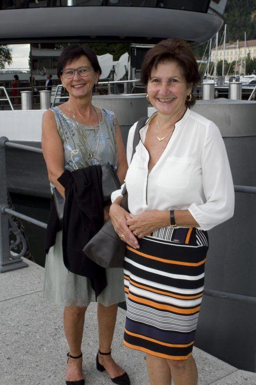 Musikliebhaberinnen Renate Vonblon (l.) und Christl Gasser.