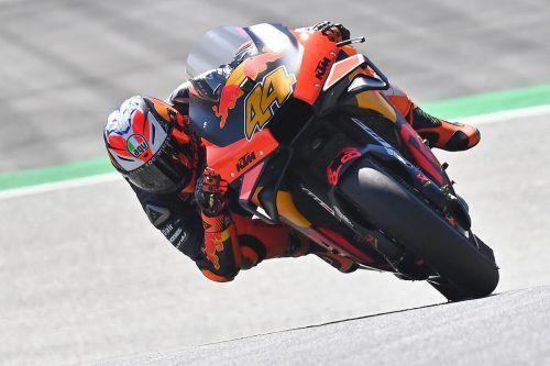 Nach dem ersten Trainingstag in der MotoGP-Klasse liegt er in Spielberg an der Spitze, wie bereits in der letzten Woche: Pol Espargaro.AFP