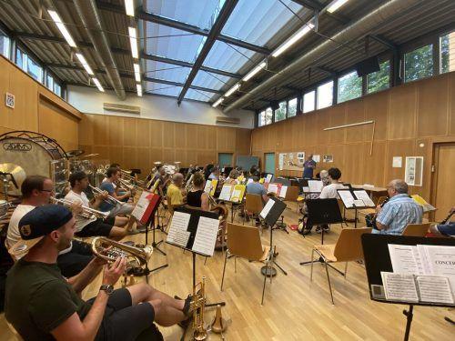 Nach rund fünf Monaten musikalischer Zwangspause konnte am Freitag die erste Probe der Bludenzer Stadtmusik stattfinden.MEL