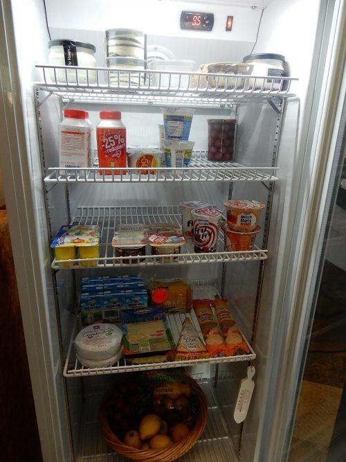 Noch genießbare Lebensmittel können abgegeben und entnommen werden.