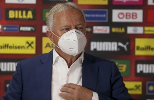 Ob er erneut als ÖFB-Präsident kandidieren will, lässt Leo Windtner noch offen. GEPA