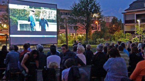 Open-Air-Kino in Bregenz von Donnerstag, 3. bis Samstag, 5. September.fst