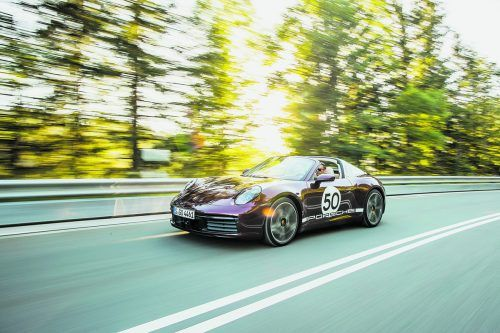 Open air mit Bügel: Der neue 911 Targa steht zu seinen Traditionen, aufgerüstet auf den Technik-Standard der Generation 992.