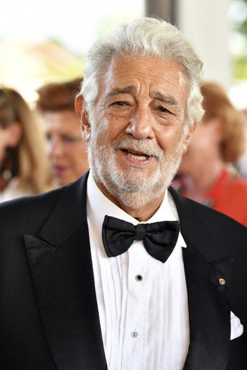 Opernstar Domingo feierte in Neapel sein Comeback. AP