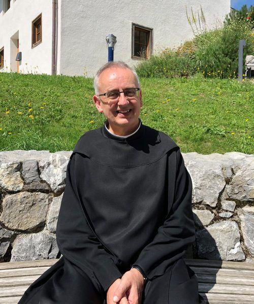 Pater Martin ist als neuem Propst der Austausch mit anderen Menschen wichtig. BI