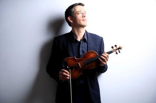 Pawel Zalejski, der Konzertmeister des SOV, tritt nun auch auf dem Bodensee-Schiff Sonnenkönigin auf. Stöhr