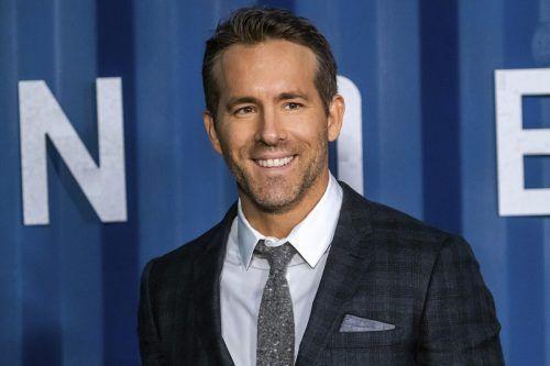 Platz zwei für Ryan Reynolds. AP
